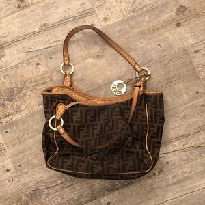 Lightly used with  love Fendi bag.